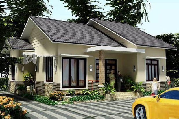 Chọn kiểu nhà phù hợp nếu muốn có 1 ngôi nhà đẹp một tầng với giá 500 triệu
