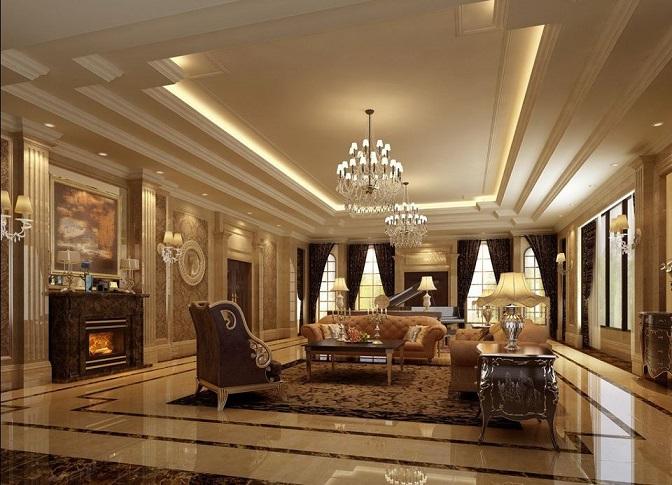 Thiết kế nội thất phòng khách cổ điển bạn cần phải lưu ý một vài yếu tố