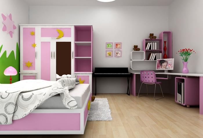Thiết kế nội thất cho trẻ em cần sáng tạo