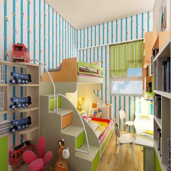 Phòng ngủ đẹp, thông minh cho trẻ với diện tích nhỏ