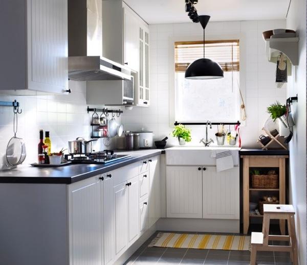 Cách bố trí, thiết kế nội thất nhà bếp, phòng bếp cho những căn hộ nhỏ xinh