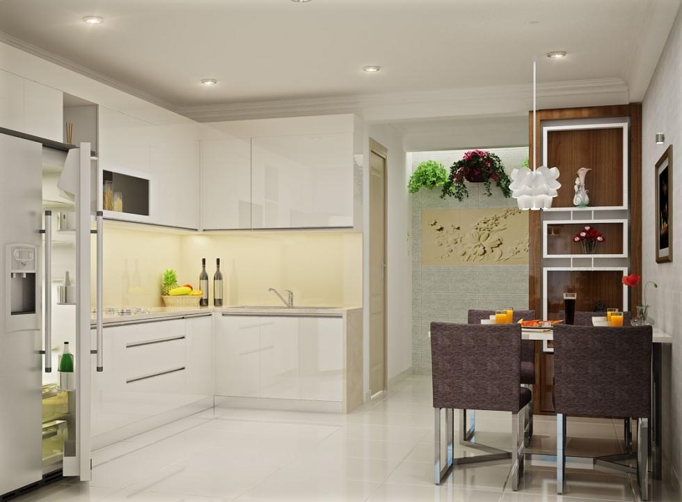 Ấn tượng 3 cách thiết kế nội thất phòng bếp đẹp, đơn giản siêu hiện đại