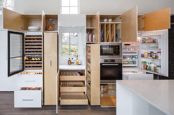 10+ mẫu tủ bếp đơn giản khiến phòng nhà bếp đẹp bất ngờ