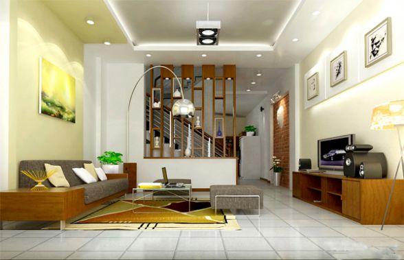 Trang trí phòng khách có diện tích hẹp theo phong cách hiện đại