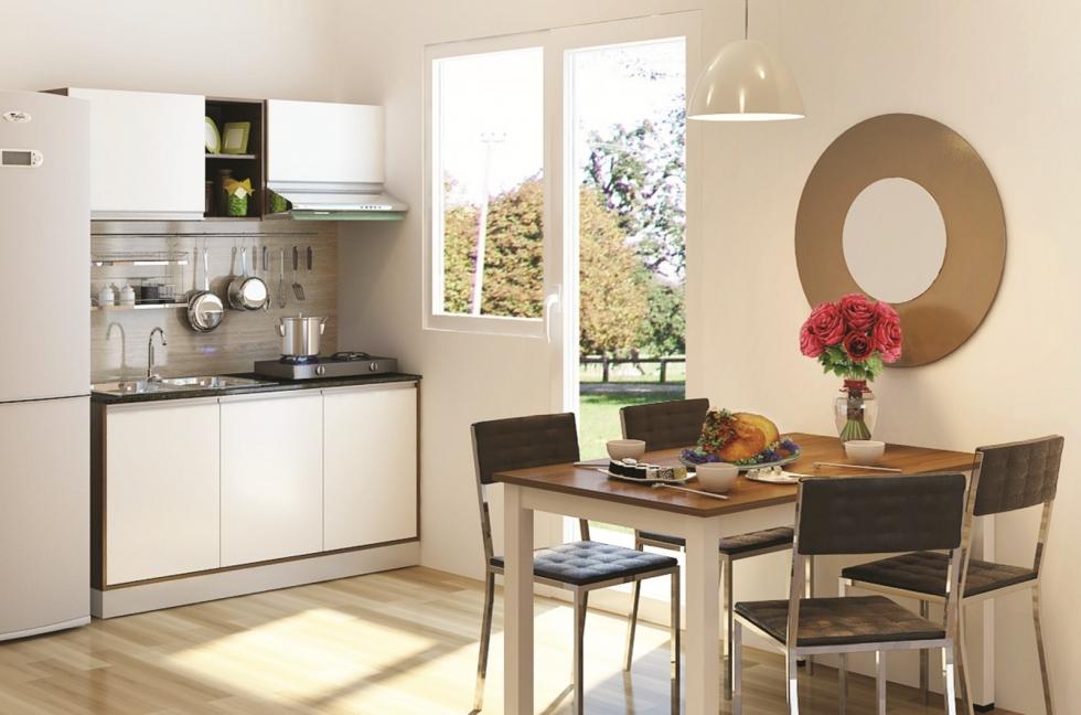 10 mẫu thiết kế nhà bếp cấp 4 ở nông thôn đơn giản, rẻ đepj, hiện đại nhất hiện nay