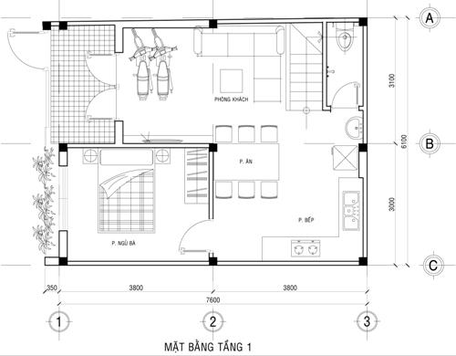 43-mau-nha-dep-voi-chi-phi-xay-nha-tu-100-trieu-dong 43 mẫu nhà đẹp mê ly với chi phí xây chỉ từ 100 triệu cho các cặp vợ chồng trẻ