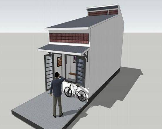 Mẫu 2 - Chi phí xây nhà 100 triệu đồng