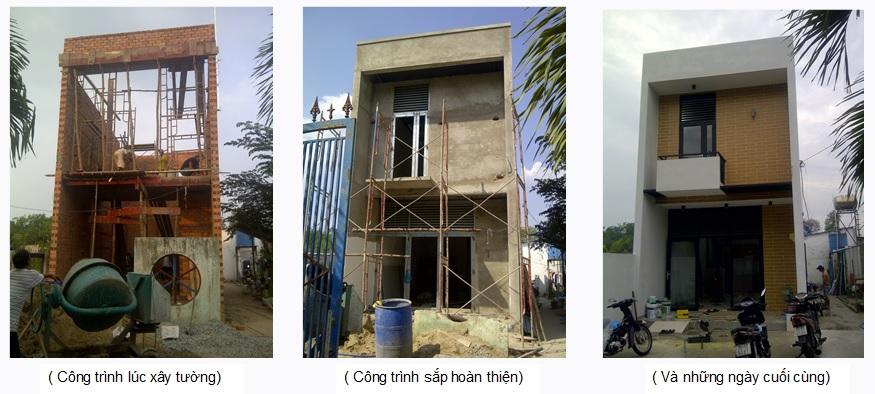 xây nhà 2 tầng