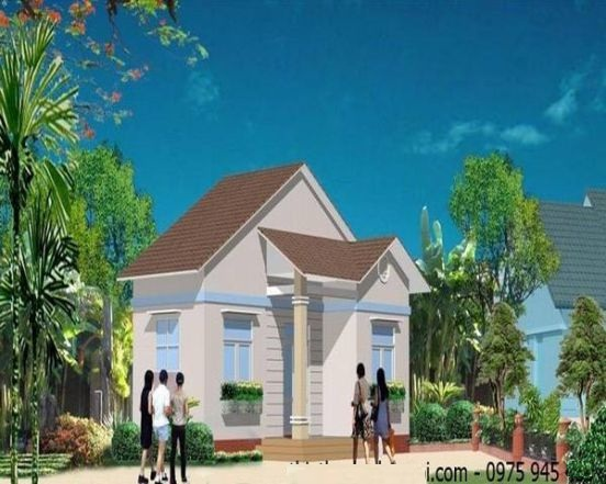 Mẫu 4 - Chi phí xây nhà 100 triệu đồng