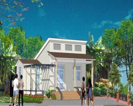 - 5 - 43 mẫu nhà đẹp mê ly với chi phí xây chỉ từ 100 triệu cho các cặp vợ chồng trẻ