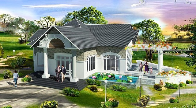 - 7 20 284 29 - 43 mẫu nhà đẹp mê ly với chi phí xây chỉ từ 100 triệu cho các cặp vợ chồng trẻ