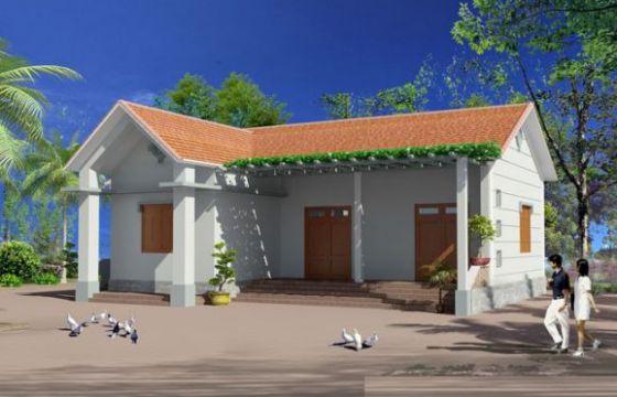 Mẫu 8 - xây nhà 100 triệu đồng