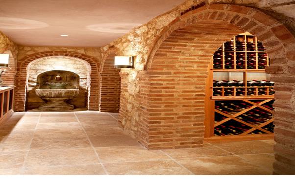 Một công trình hầm rượu được xây dựng bằng gạch tuyệt vời!