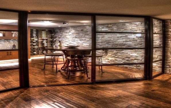 Một không gian tuyệt vời để cất giữ rượu vang