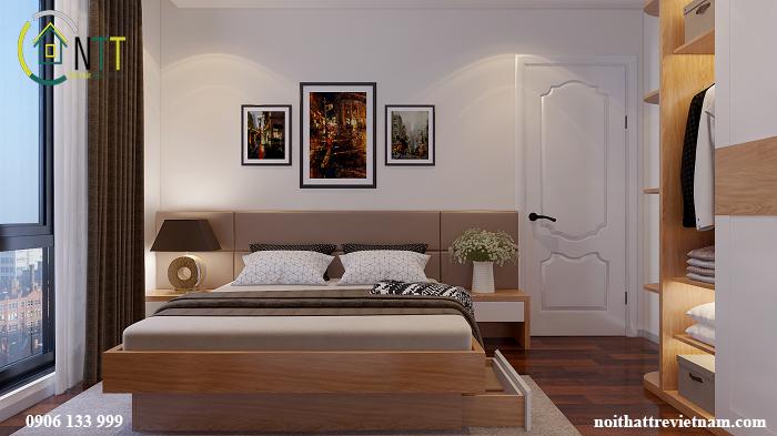giường ngủ có ngăn kéo chứa đồ