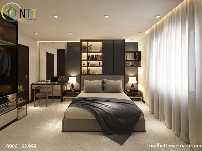 Phòng ngủ với đầy đủ tiện nghi