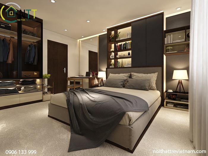 Không gian được thiết kế theo cá tính của chủ nhân căn hộ là người trẻ tuổi