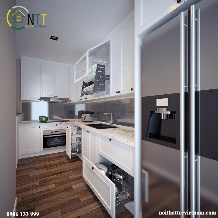 Các ngăn tủ đa năng và tiện dụng với những phụ kiện cao cấp