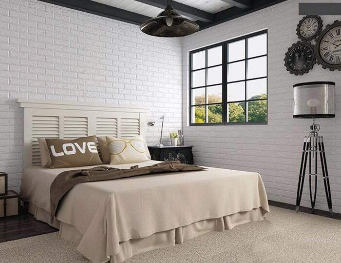 Trang Trí Phòng Ngủ Bằng Xốp Dán Tường đẹp Với 20 ý Tưởng