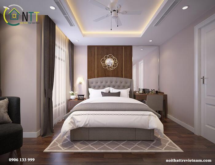 Phòng ngủ chung cư Ancora