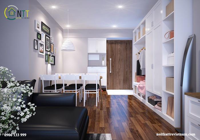 Thiết kế nội thất chung cư Seasons Avenue Mỗ Lao Hà Đông