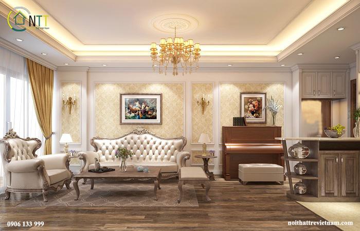Phong cách thiết kế tân cổ điển trong ngôi nhà