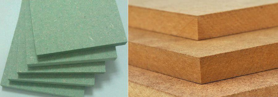 phân loại gỗ mdf