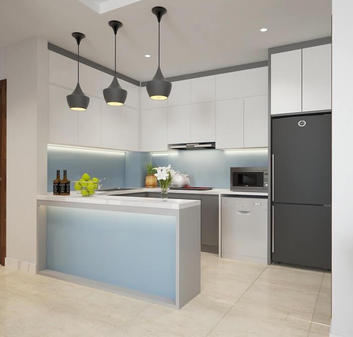 Phòng bếp với đầy đủ công năng