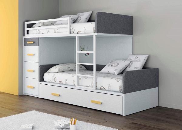 Mẫu 10 - Mẫu giường tầng cho bé