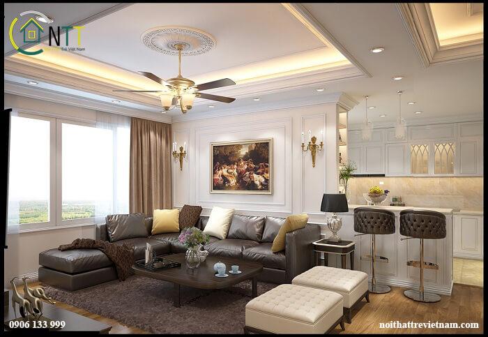 Cách trang trí căn hộ chung cư
