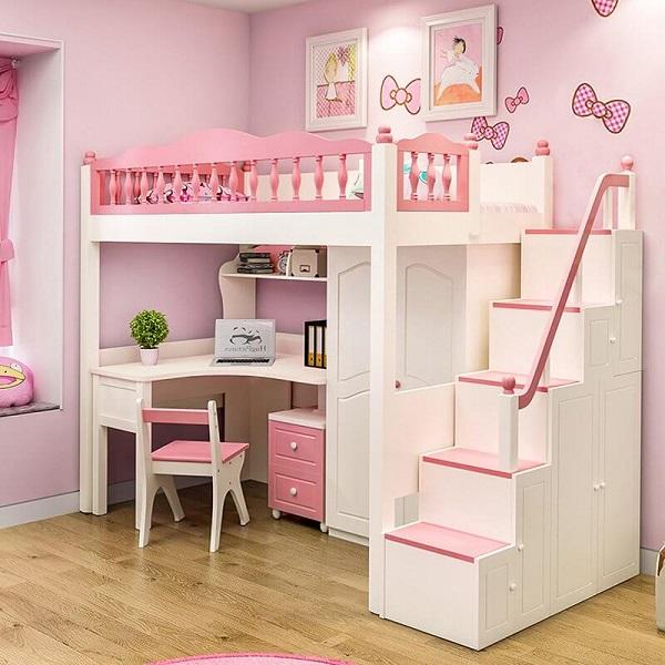 Giường ngủ 2 tầng cho trẻ em