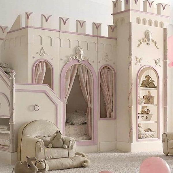 Mẫu 26 - Giường công chúa