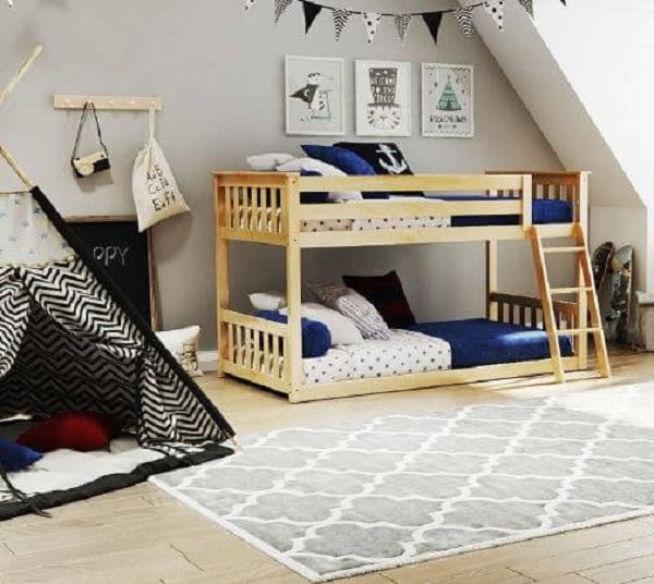 Mẫu 30 - Giường tầng cho bé 6 tuổi