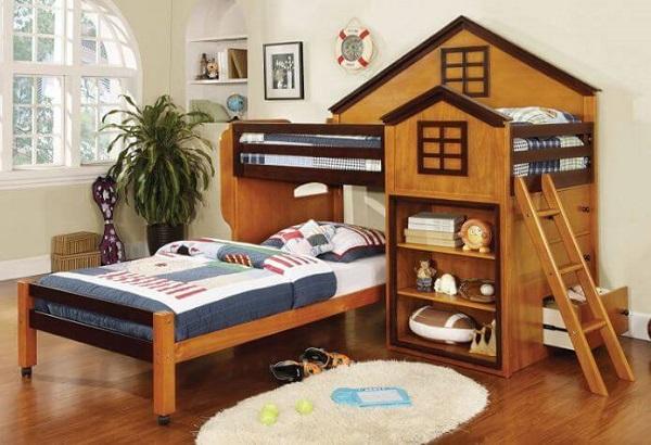 Mẫu 31- Giường tầng cho bé 7 tuổi