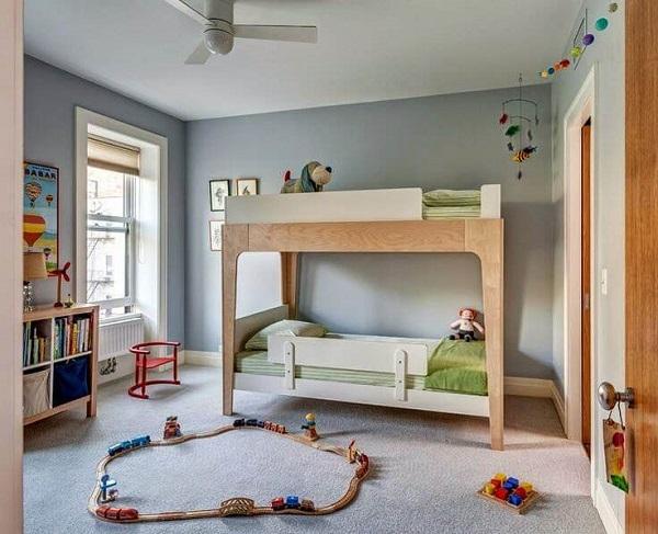 Mẫu 32- Giường tầng cho bé 7 tuổi mẫu 2