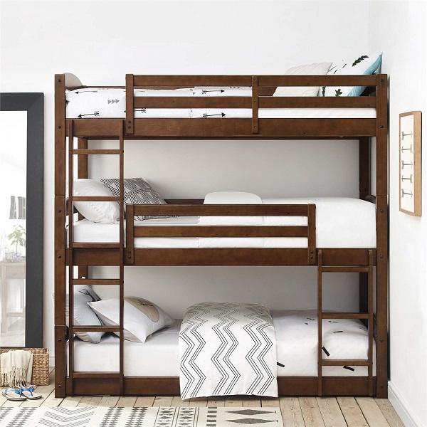 Mẫu 44 - Giường 3 tầng cho người lớn