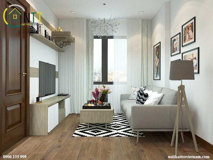 Nội thất nhà chung cư đẹp hiện đại