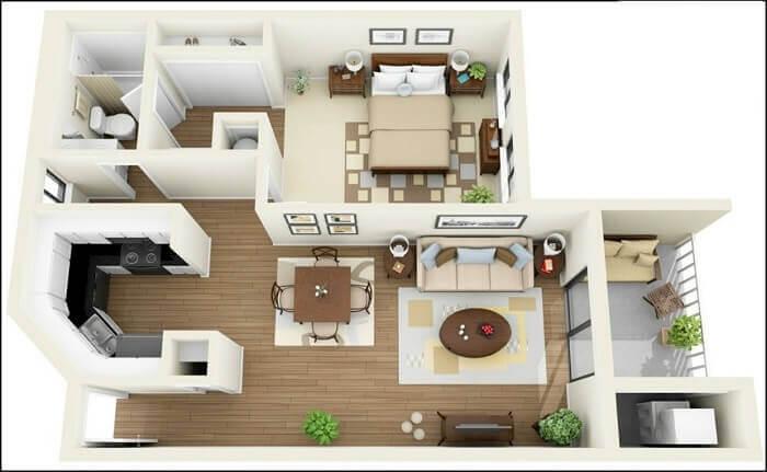 Trang trí nhà chung cư đẹp