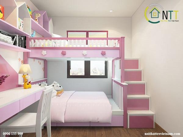 Mẫu 54 - Giường tầng 1m8 đẹp