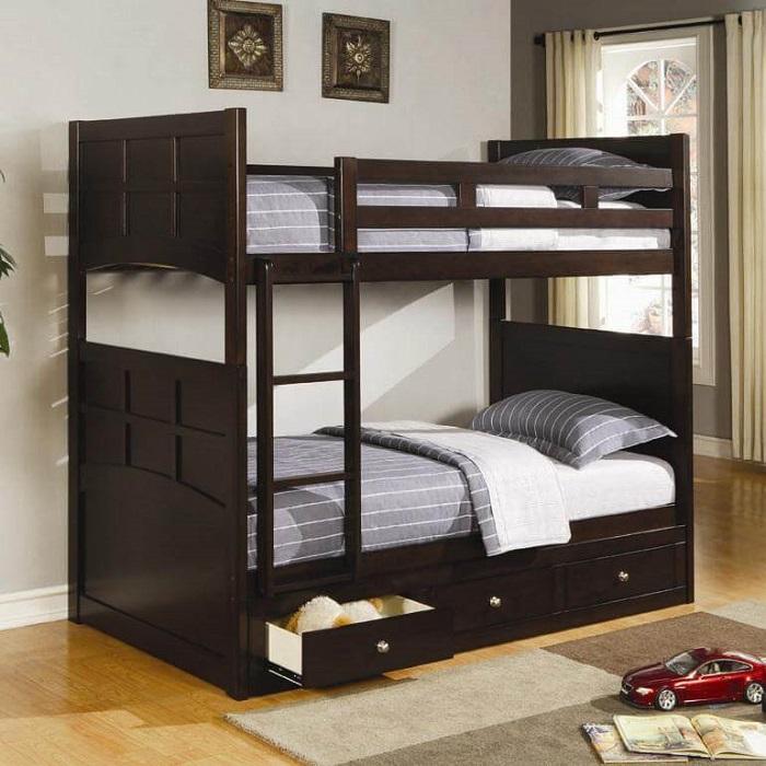 Mẫu 7 - Giường tầng bằng gỗ sang trọng mà đẹp
