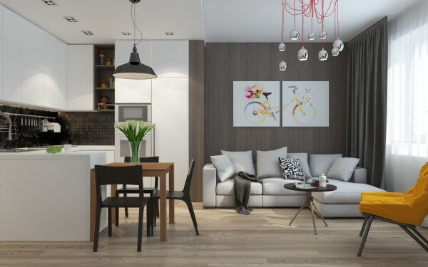 Cách trang trí nhà chung cư nhỏ