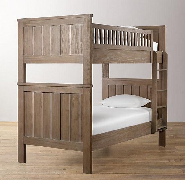 Mẫu 72 - Mua giường tầng gỗ đẹp