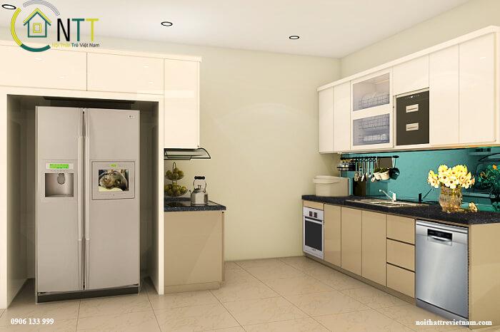 Thiết kế nhà bếp ở nông thôn