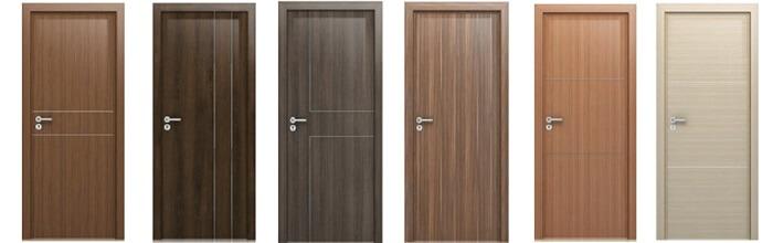 Một số mẫu cửa gỗ veneer