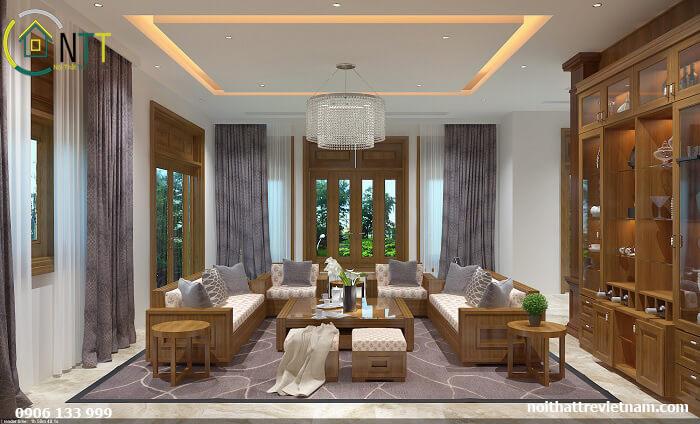Nội thất gỗ tự nhiên  - Bàn ghế gỗ tự nhiên cao cấp