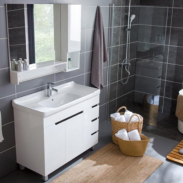 Nội thất gỗ nhựa cho phòng tắm