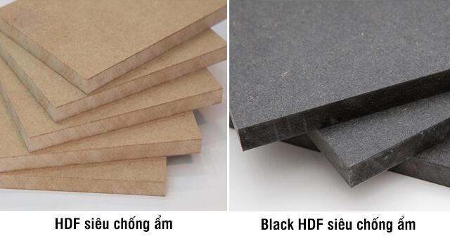 Gỗ HDF là gì? Tìm hiểu gỗ công nghiệp HDF và so sánh với MDF, MFC