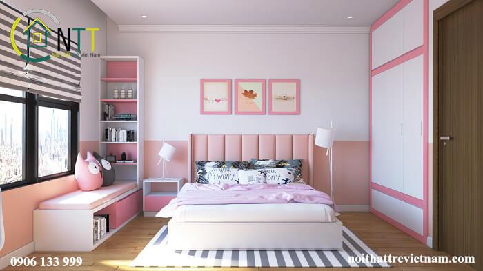 Trang trí phòng ngủ dễ thương