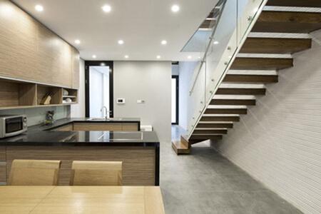 Bạn vẫn có thể tìm thấy những không gian sang trọng trong căn nhà này
