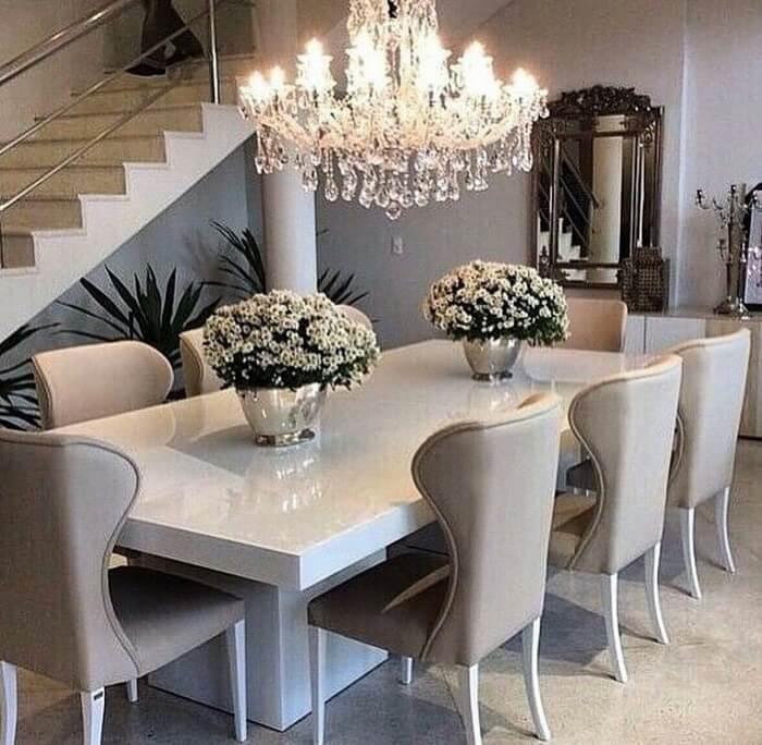 Mẫu 16 - Bộ bàn ăn 8 ghế hiện đại